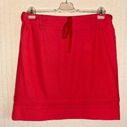 Юбки -  COMMA Германия ХЦ красная брендовая юбка на подкладке 44de на 50рус, 0