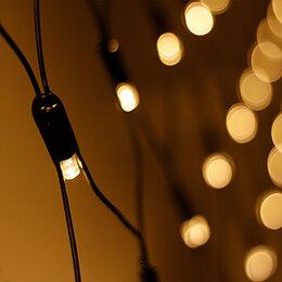 Новогодний декор и аксессуары - Светодиодная гирлянда ARD-NETLIGHT-CLASSIC-2000x1500-BLACK-288LED Warm (230V,..., 0