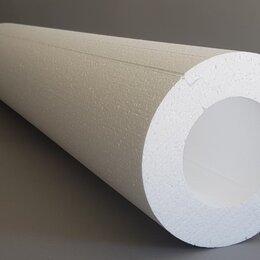 Изоляционные материалы - Скорлупа ППС Утеплитель труб D57Х1230Х50 мм, 0