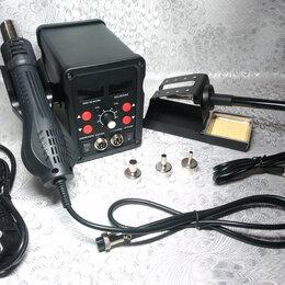 Электрические паяльники - Паяльная станция 2 в 1 с дополнениями или без, 0