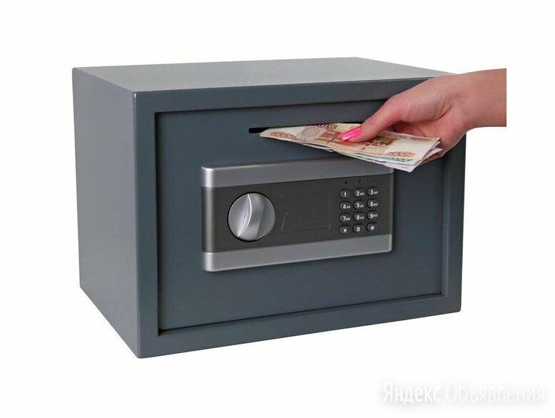 Сейф депозитный SHM-25D (код+ключ) по цене 6990₽ - Сейфы, фото 0