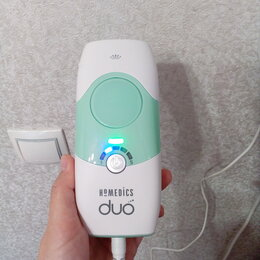 Эпиляторы и женские электробритвы - Фотоэпилятор Homedics DUO IPL-HH150-EU, 0