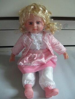 Куклы и пупсы - Довольно большая кукла блондинка в розовом, 0
