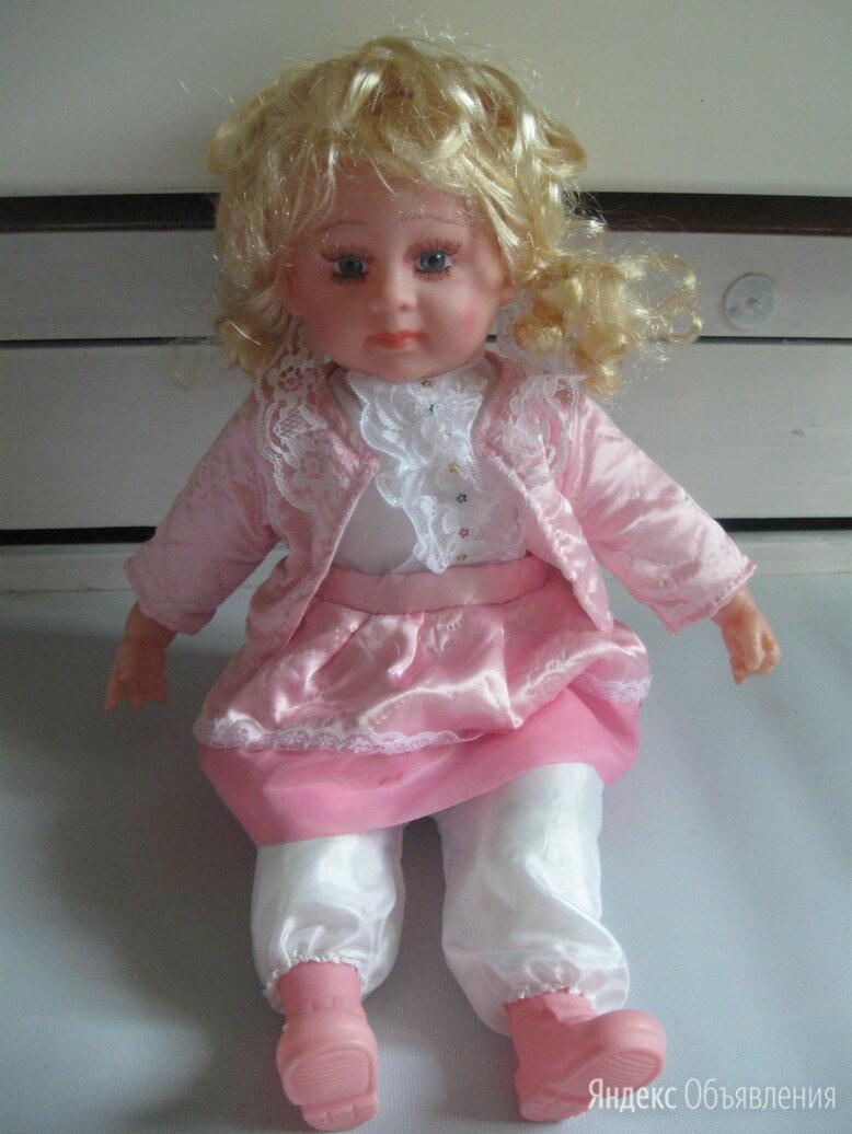 Довольно большая кукла блондинка в розовом по цене 500₽ - Куклы и пупсы, фото 0