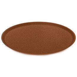 Тарелки - Тарелка коричневая 25,5 см Connect Organic , 0