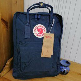 Рюкзаки - Рюкзак Kanken Classic (Royal Blue), 0