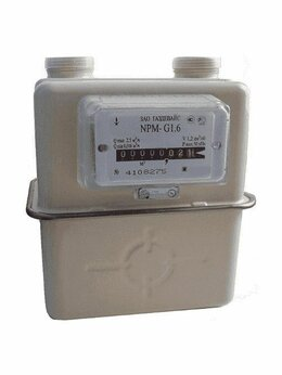 Счётчики газа - Счетчик Газа NPM G1,6 Левый Газдевайс 2021 г, 0