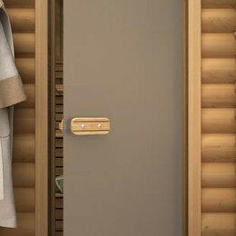 Двери - Дверь для бани со термостеклом Сатин, 0