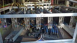 Промышленные компьютеры - Майнинг ферма MSI P106-100 6GB samsung 170 mh/s, 0