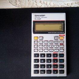 Калькуляторы - Инженерный калькулятор Sharp EL-506P, 0