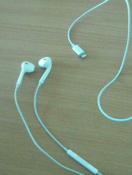 Гарнитуры для проводных телефонов - Наушники apple, 0