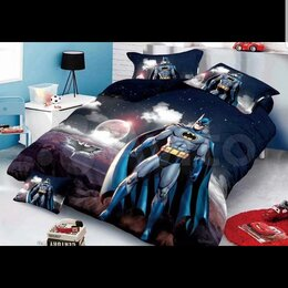 Постельное белье - Детское постельное белье Бэтмен Сатин Хлопок, 0