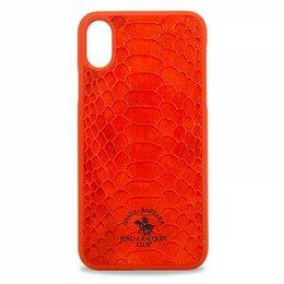 Сетевые карты и адаптеры - Чехол для iPhone X Santa Barbara Knight PC+кожа (Красный), 0