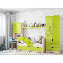 Кроватки - Детская комната Юниор-3 Маша и медведь, 0
