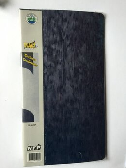 Визитницы и кредитницы - Визитница на 120 карт HFP WAVE, 0