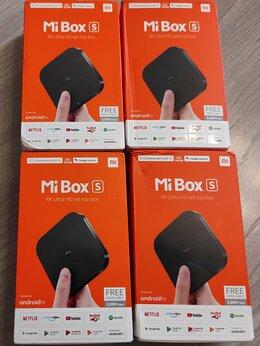 ТВ-приставки и медиаплееры - Медиаплеер Xiaomi Mi Box S, 0