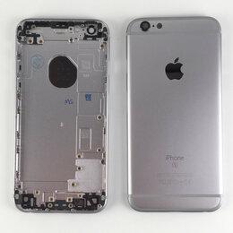 Корпусные детали - Корпус для Apple iPhone 6S серый космос, 0