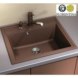 Кухонные мойки - Мойка для кухни FLORENTINA Липси 600, 0