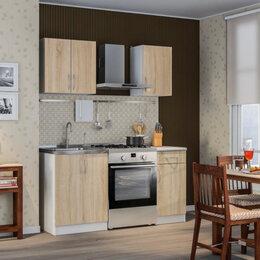 Мебель для кухни - ДЕМИ Кухня Белый/Дуб Сонома/Серебро, 0