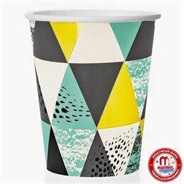 Бокалы и стаканы - Стаканы Мозайка, 6шт, 250мл, 0