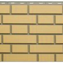 Фасадные панели - Панель Кирпич Клинкерный, Желтый, 1220х440мм, 0