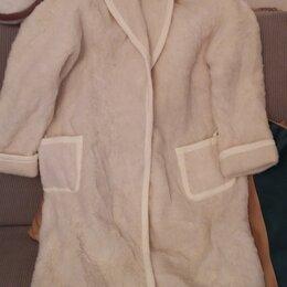 Домашняя одежда - Халат из натуральной овчины, 0