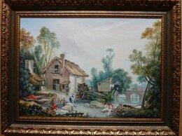 Картины, постеры, гобелены, панно - Французский пейзаж. 50х70см, 0