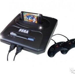 Ретро-консоли и электронные игры - Sega Mega Drive 2 сега мега драйв 2 с гарантией, 0