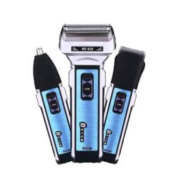 Машинки для стрижки и триммеры - Универсальный триммер Pro Gemei 3 в 1 GM-589, 0