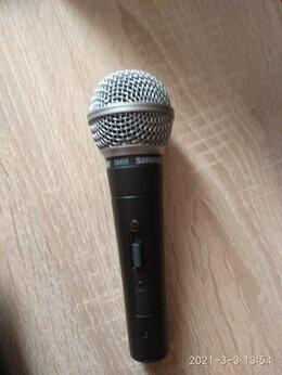 Микрофоны - микрофон shure s 58 новый в чехле вместе…, 0