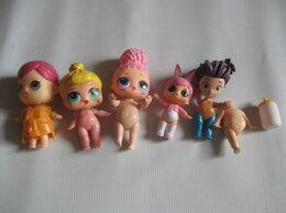 Куклы и пупсы - Пакетом куклы Лол + бутылочка и запчасти, 0