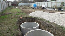 Септики - Установка септиков из бетонных колец, 0