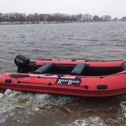 Надувные, разборные и гребные суда - Лодка пвх RiverBoats RB370 (Киль) новая , 0