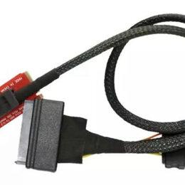 Компьютерные кабели, разъемы, переходники - Кабель SFF-8643 на SFF-8639 с адаптером M.2 to U.2, 0