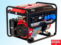 Электрогенераторы - Генератор бензиновый Elitech СГБ 6500Р, 0