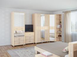 Кровати - Спальня Оливия (Комплектация 3), 0