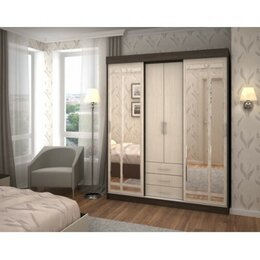 Шкафы, стенки, гарнитуры - Шкаф-купе Андрей-1, 0