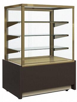 Холодильные витрины - Витрина кондитерская Carboma KC70 VM 0,9-1 (ВХСв…, 0