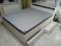 Кровати - Кровать двуспальная с 4-мя ящиками и матрасом, 0