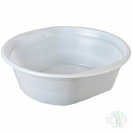 Тарелки - Тарелка суповая 500-600 мл пластиковая (50 шт в…, 0