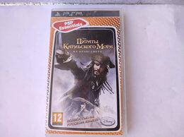Игры для приставок и ПК - Лицензионная Игра PSP Пираты Карибского моря, 0