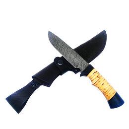 Ножи и мультитулы - Нож ручной работы из дамасской стали «Лорд», 0