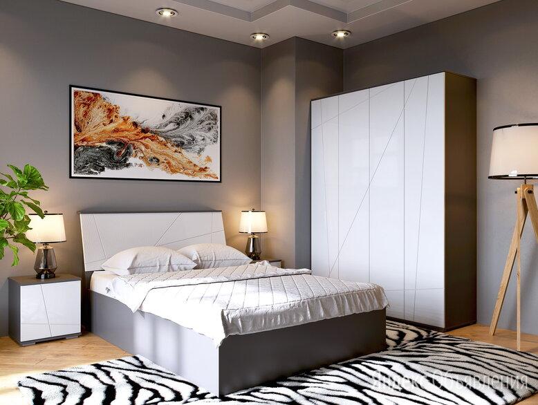Спальня новая модель в рассрочку с доставкой  по цене 2250₽ - Тумбы, фото 0