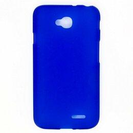 Чехлы - Силиконовый чехол для LG L70 D325 (синий), 0