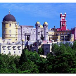 Пазлы - Новый пазл Дворец Пена, Португалия 1000 деталей., 0
