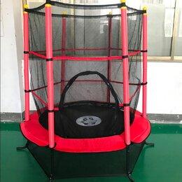 Надувные комплексы и батуты - Детский батут Perfetto Sport 140 см с защитной сеткой 5 ft, 0