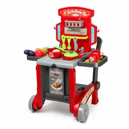 """Игрушечная еда и посуда - Игровой набор ABC """"Шеф-повар"""", 0"""