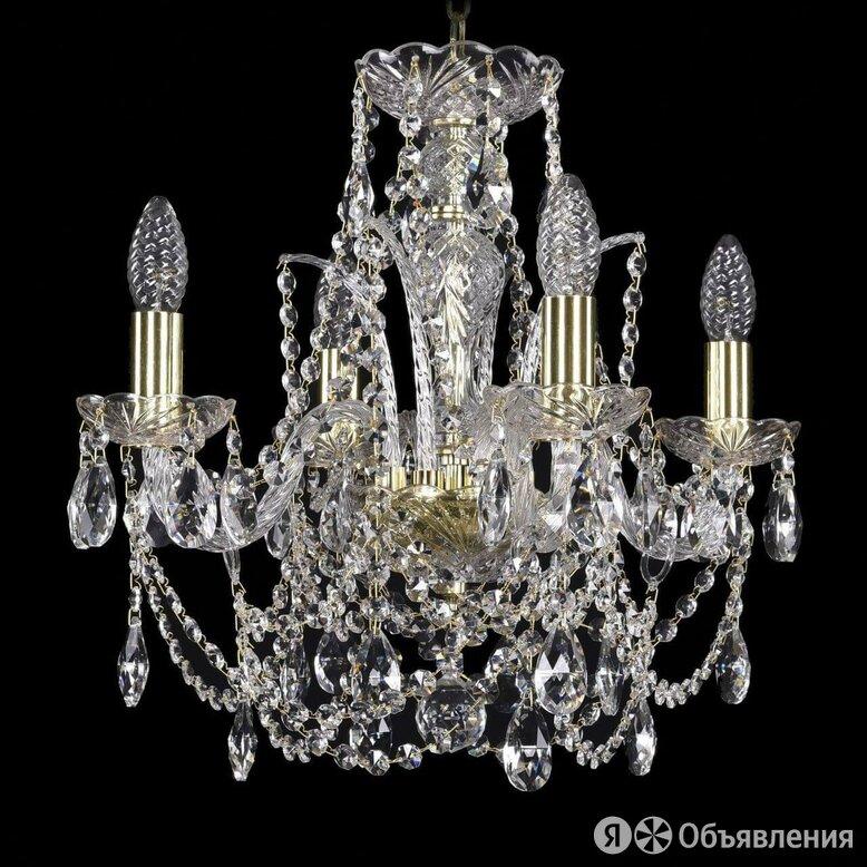 Подвесная люстра Bohemia Ivele 1411/4/141/G по цене 16887₽ - Люстры и потолочные светильники, фото 0