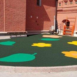 Садовые дорожки и покрытия - Резиновое покритие, 0