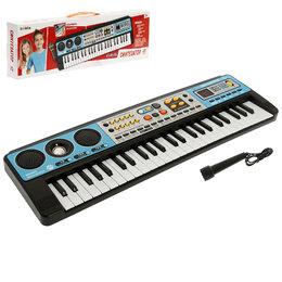 Клавишные инструменты - Синтезатор «Музыкальный взрыв», 49 клавиш с радио, 0